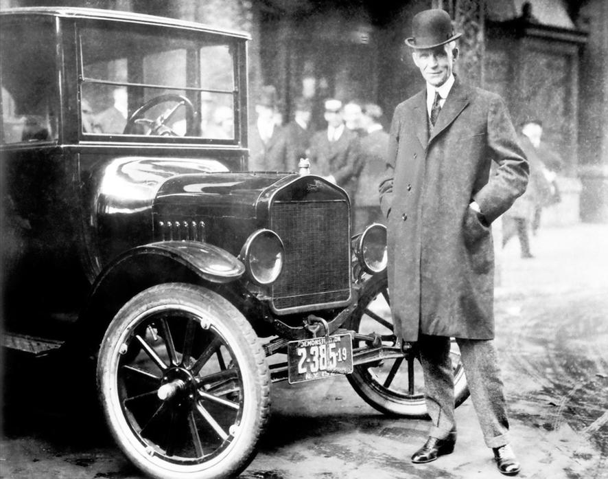 История автомобилестроения в США