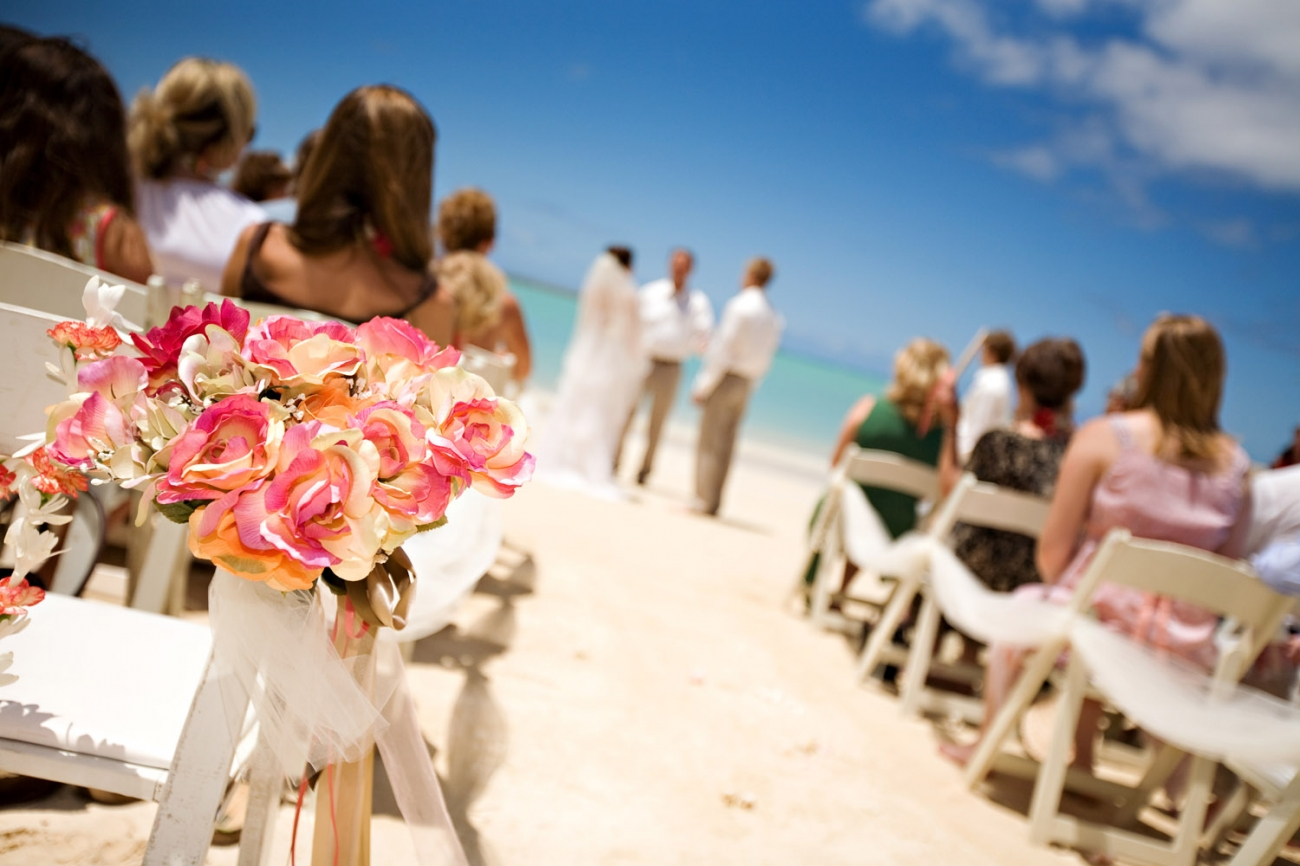 Wai iti beach wedding