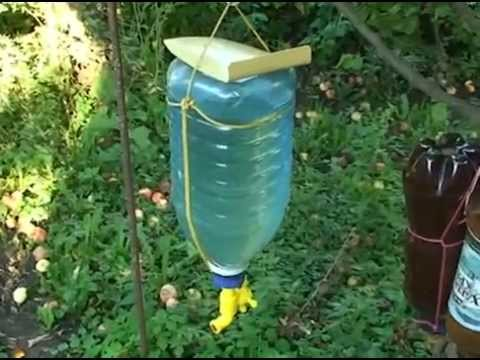 Летний душ из пластиковых бутылок своими руками