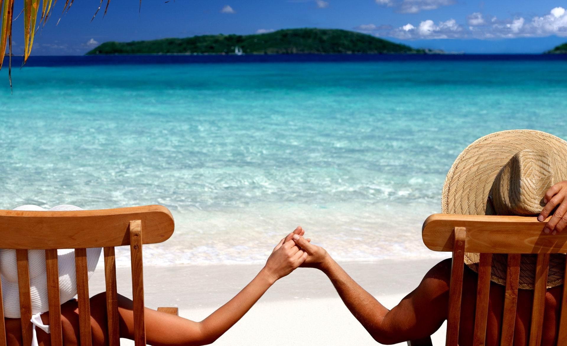 фото отдых на пляже