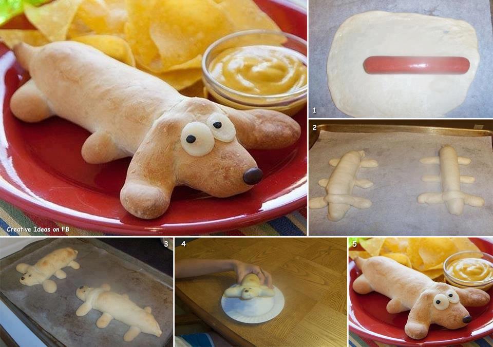 Как сделать пирожки сосиской