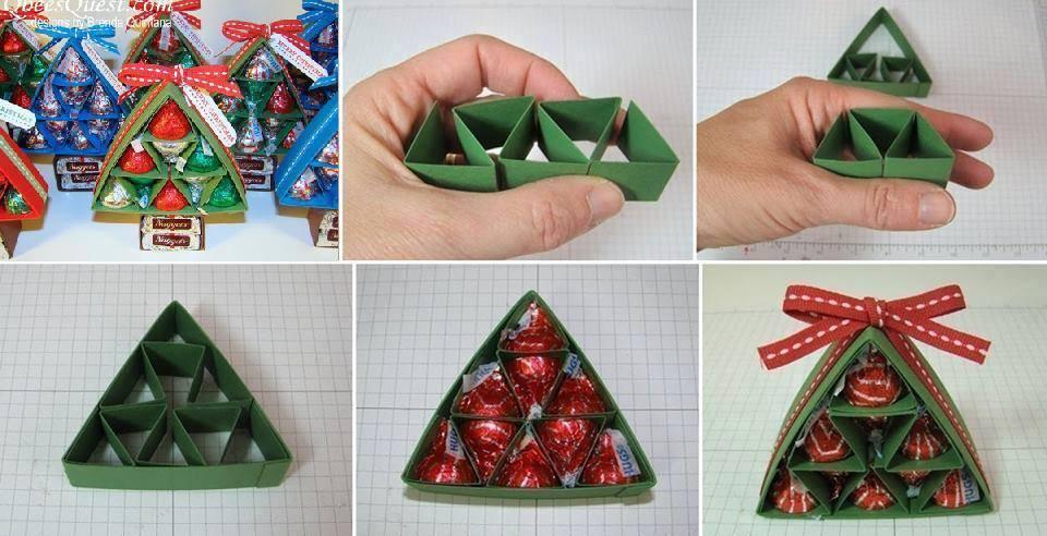 Как сделать новогодний подарок своими руками фото