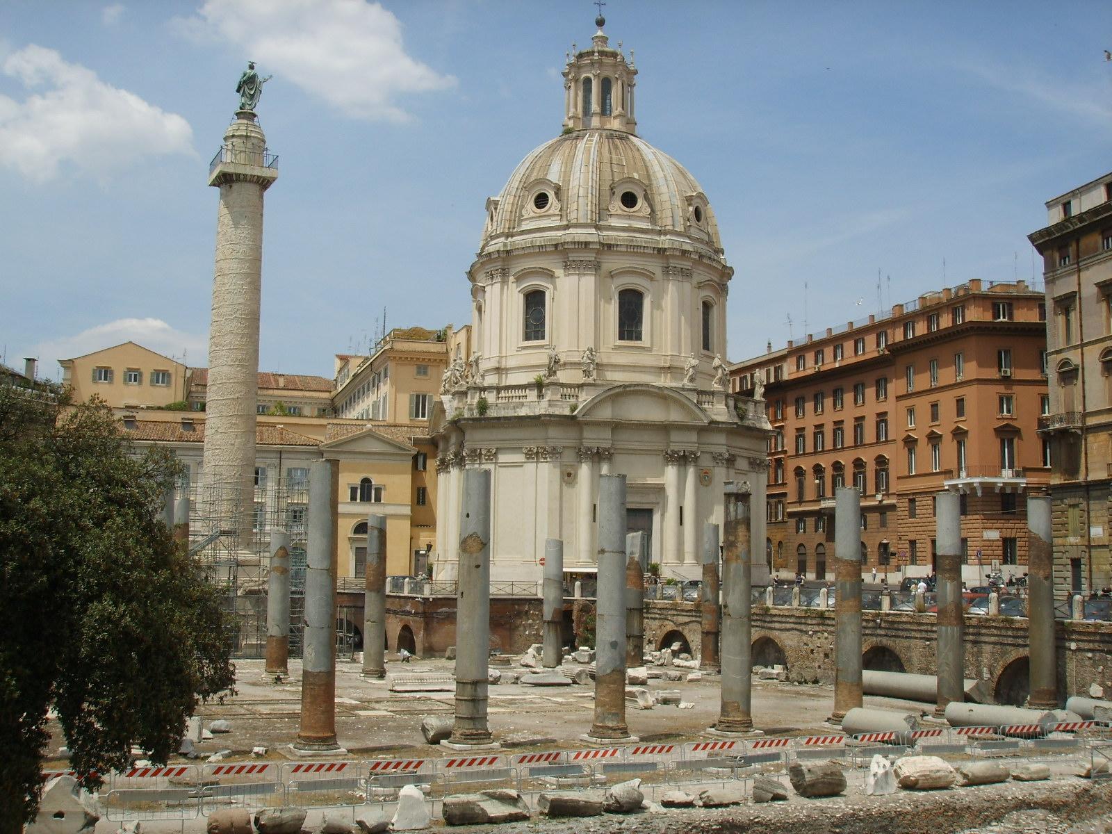 Форум Траяна (Foro di Traiano)
