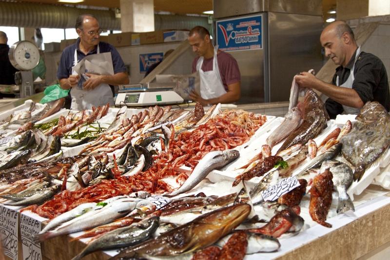 Рыба и морепродукты в итальянских ресторанах