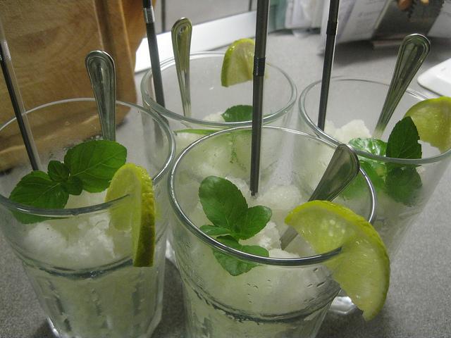 Лимонная гранита без мороженицы/Granita al limone senza gelatiera
