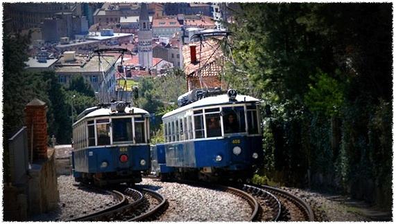 Трамвайная линия Опичина в Триесте (Tranvia di Opicina)