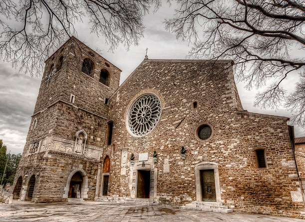 Собор и замок Сан-Джусто в Триесте (Castello di San Giusto)