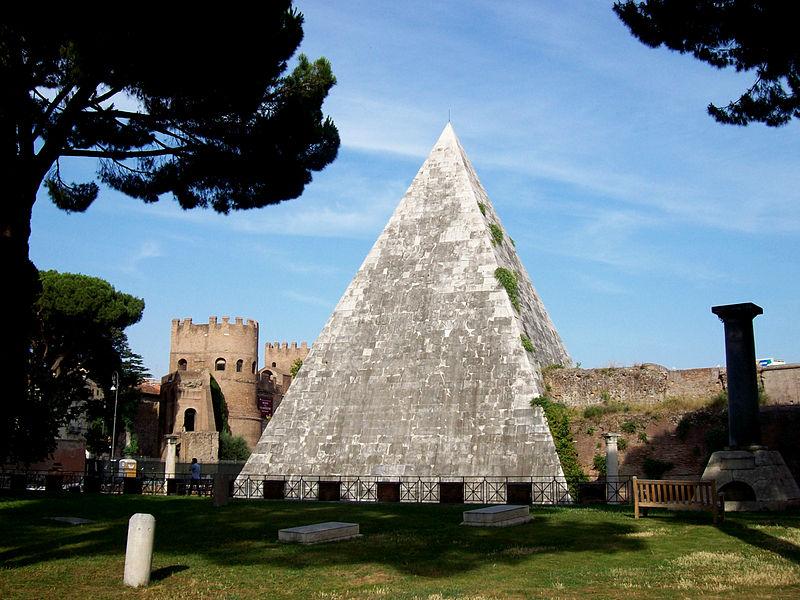 Пирамида Цестия (Piramide Cestio)