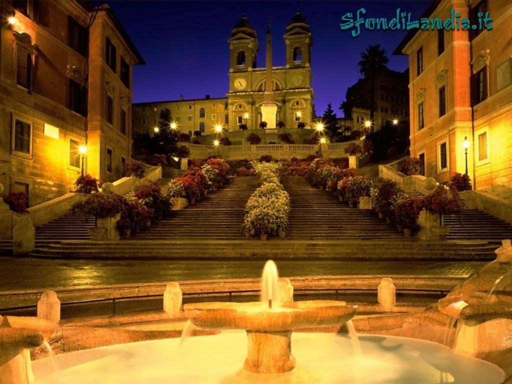 Испанская лестница (Scalinata di Spagna)