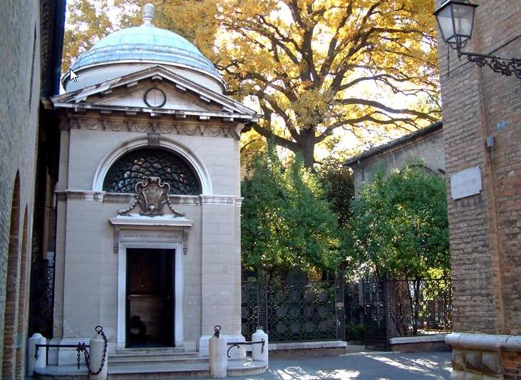 Мавзолей-усыпальница Данте (Mausoleo-Tomba di Dante)