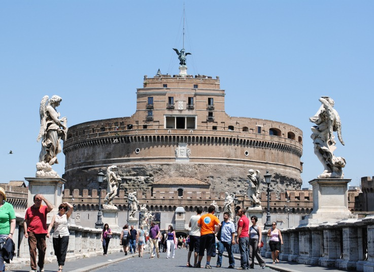 Замок Сант-Анджело (Castel Sant' Angelo)