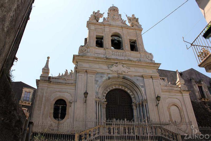 Церковь заключения Святой Агаты в Катании (Chiesa di Sant'Agata al Carcere)