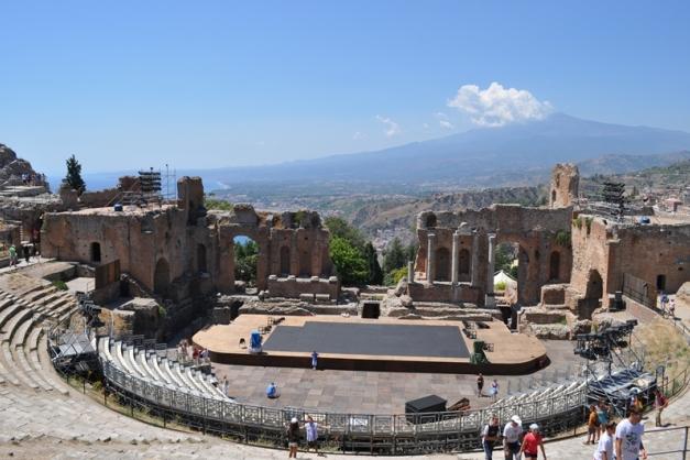 Греческий театр в Таормине (Teatro greco)
