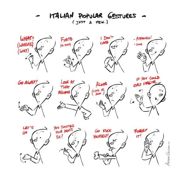 Выучить итальянские жесты с моделями Dolce & Gabbana