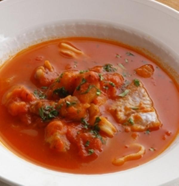 Дорадо в помидорном соусе/Orata in guazzetto