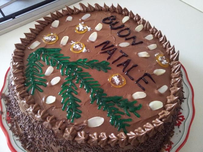 Наш рождественский торт