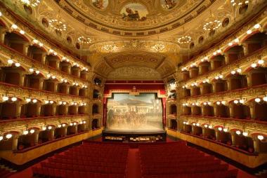 Большой театр Беллини в Катании (Teatro Massimo Bellini)