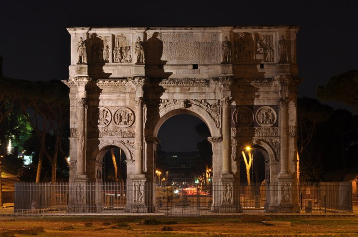 Арка Константина (Arco di Costantino)