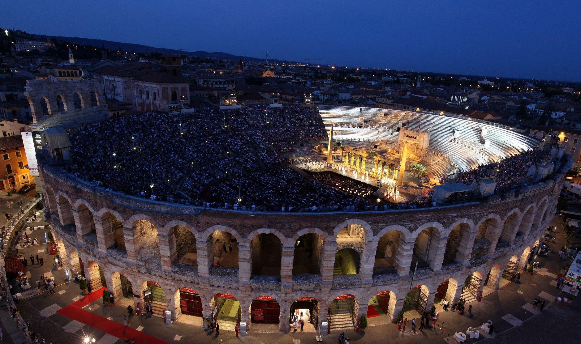 Амфитеатр (Arena di Verona)