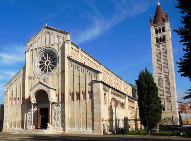 Церковь Сан-Дзено-Маджоре (Chiesa di San Zeno Maggiore)