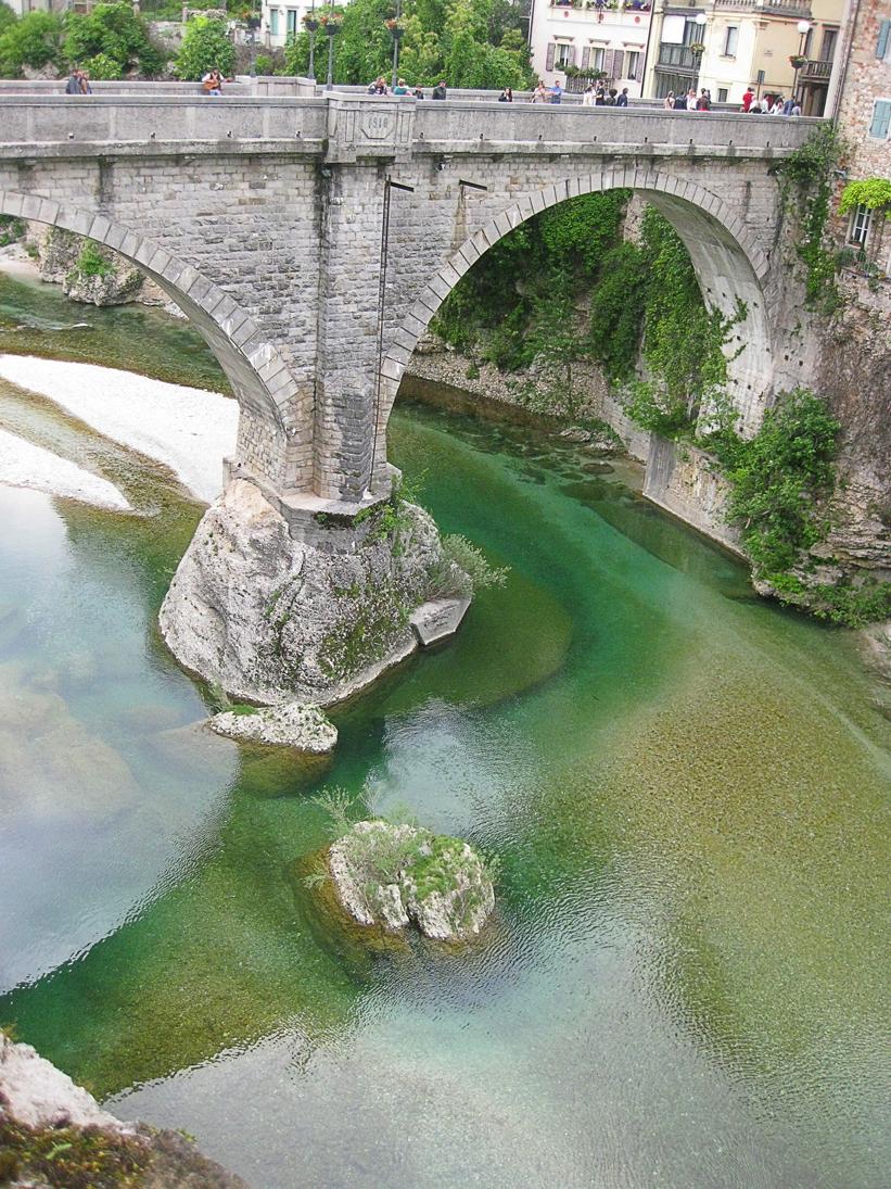 Мост дьявола в Чивидале дель Фриули