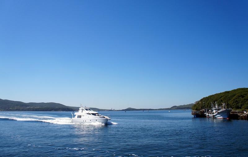 Лето. Море. остров Русский.