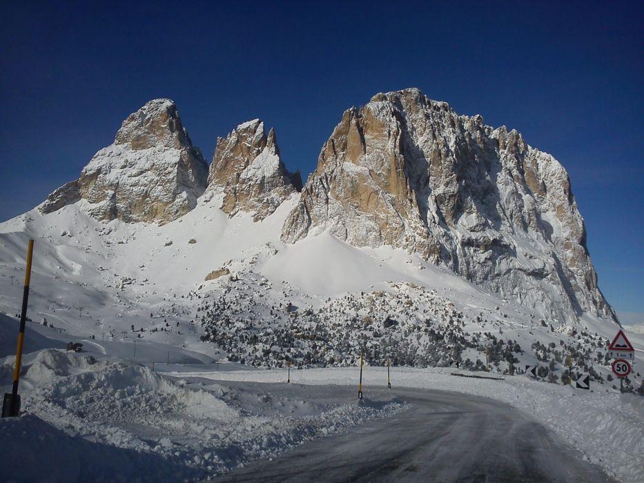 Перевал..по дороге в Val Gardena