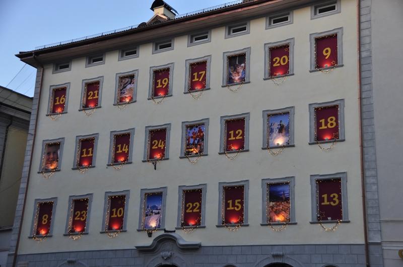 Дом-календарик в Больцано