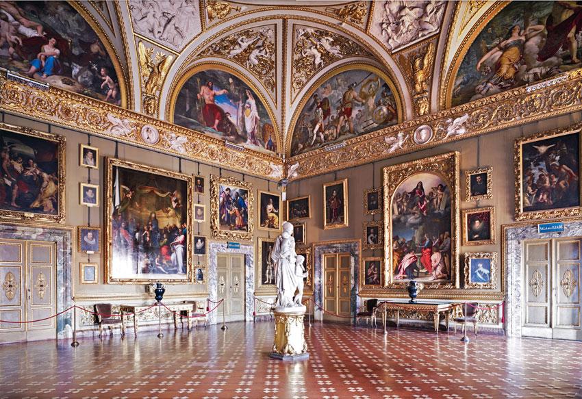 Галерея современного искусства Флоренции (Palazzo Pitti)