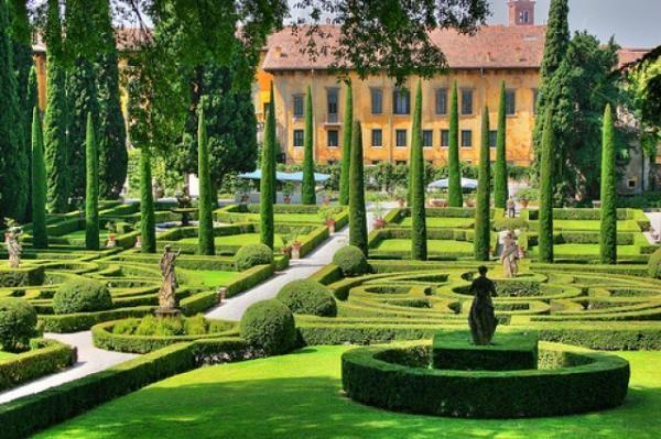 Дворец Франческатти и сад Джусти (Palazzo e Giardino Giusti)