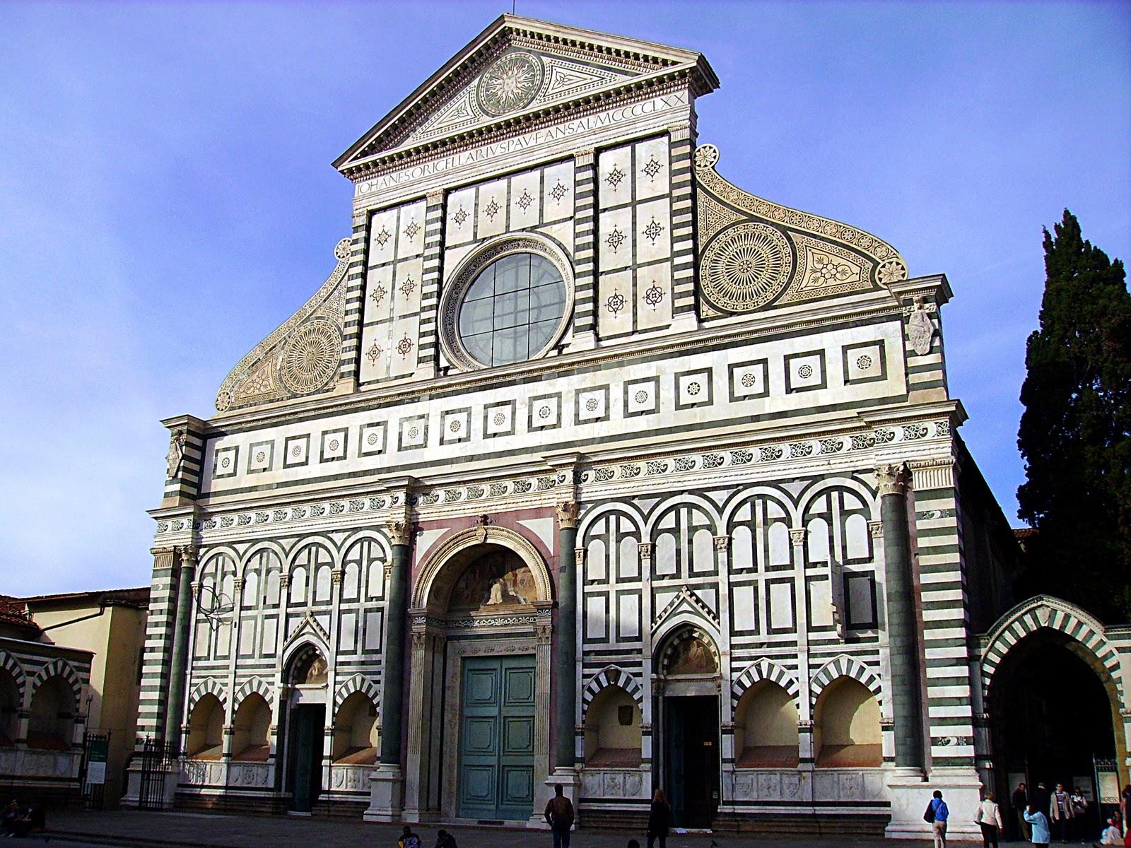 Базилика Санта-Мария-Новелла (Basilica di Santa Maria Novella)