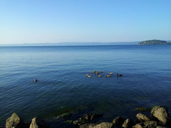 Наши выходные на озере Больсена