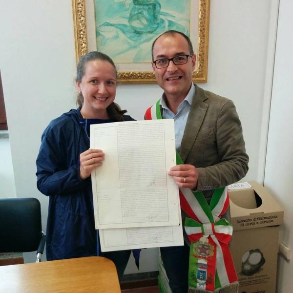 Сегодня я скоропостижно стала гражданкой Италии